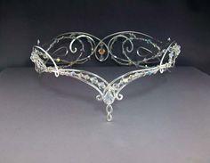 Matrimonio rinascimentale corona Tiara Nuziale di ElnaraNiall