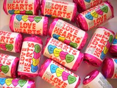 Mini Love Hearts 3kg, £16.99 Retro Sweets, Love Heart, True Love, Hearts, Jar, Mini, Real Love, Heart Of Love, Heart