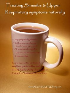 Natural Remedies for Sickness - Sinusitis