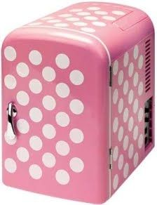 Pink polkadot Fridge