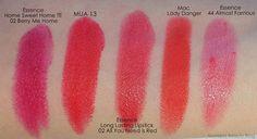 Mateja's Beauty Blog: Essence Long Lasting Lipsticks