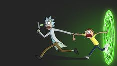 HD wallpaper: Rick and Morty, TV, Rick Sanchez, Morty Smith, vector, robot