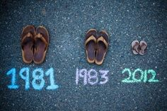 pregnancy announcement ideas | Pregnancy photo ideas / Great Baby Announcement Idea! | We Heart It