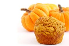 Dr. Oz's Pumpkin Muffins - this muffin recipe uses pumpkin puree instead of butter to create a lighter, delicious version.  The end result is a tasty pumpkin muffin that's much lower in fat and calories!