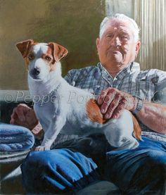 I have never seen such an awesome portrait!  Margi Hopkins is a wonderful artist.  Pepperportraits.com.  Repin this so she gets the word out!