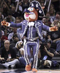 Spurs Coyote - S.A. Proud - Go Spurs Go!!