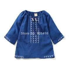 Find More   Information about Retail new 2014 spring autumn children t shirts blue/white baby girls long sleeve t shirt  kids tops girls clothing 90 130,High Quality  ,China   Suppliers, Cheap   from Shanghai Wanxi Clothing Ltd on Aliexpress.com