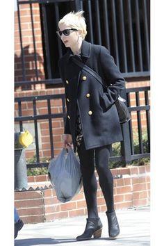 asahi.com(朝日新聞社):春のショートブーツはセレブスタイルのお約束! ミシェル・ウィリアムズ - asahi.com × VOGUE JAPAN - ファッション&スタイル