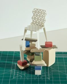 On a foggy day in early May, we visited Vitra Design Museum Co-Director Marc Zehntner at the Vitra Campus in Weil am Rhein just outside of Basel to discuss the . Miniature Chair, Vitra Design Museum, Chair Design, Floor Chair, 3d Printing, Interior Design, Prints, Lounge Chairs, Exhibitions