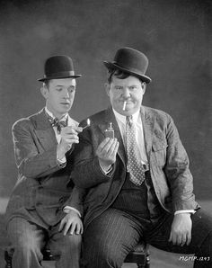 Laurel and Hardy - a picture from the past i had a dream that i was awake and i woke up to find myself asleep ― stan laurel Laurel And Hardy, Stan Laurel Oliver Hardy, Golden Age Of Hollywood, Hollywood Stars, Classic Hollywood, Old Hollywood, Hollywood Fancy Dress, Classic Comedies, Classic Films