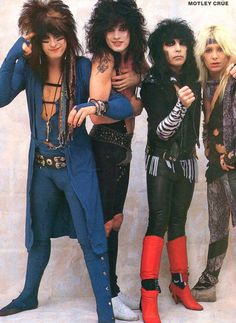 Motley Crue the type of outfit nikki talks about