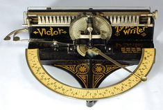 Just Your Type: 11 Gorgeous Unique Antique Typewriters | Gadgets, Science & Technology