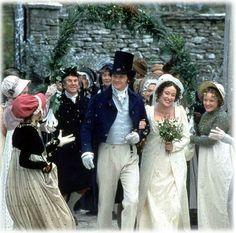 Pride and Prejudice wedding arch