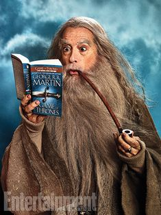 More from Stephen Colbert's Hobbit photo shoot - Imgur
