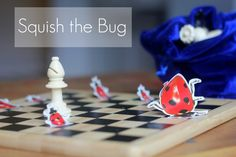 Squish the Bug Game: Chess for Kids