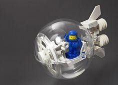 CS Transit Bubble #LEGO #space #MOC