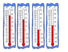 Printables Reading A Thermometer Worksheet activity for reading a thermometer montessori science match the thermometers to their temperatures in this math are celsius and