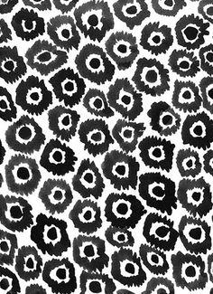 Leanne Shapton- has an animal print/floral poppy kind of feeling