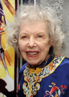 "Carla Laemmle - Debbie Reynolds led us in ""Happy Birthday To You"" at the ""Hollywood Show"" in Burbank in honor of Carla's 100th birthday, c. 2011 / She is the niece of Carl Laemmle and played the guide book girl at the beginning of Bela Lugosi's ""Dracula"" and performed in the ballet in the Lon Chaney, Sr. production of ""The Phantom of the Opera""."