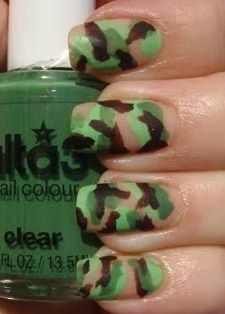 Camo + nails