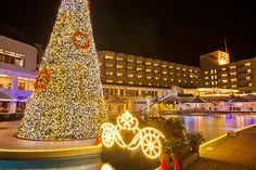 Kariyushi Million Fantasy/Okinawa Island Guide Oct 29, Hotel Guest, Okinawa, Resort Spa, Beach Resorts, Night Light, Places To See, Tuesday, Things To Do