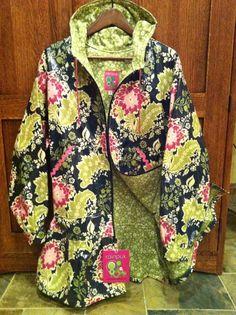 A raincoat Kuspuk.  So pretty but so expensive!!  $160