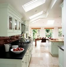 Love the kitchen of the Kitchen. The ceiling lights work well. Love the doors at the rear. Kitchen Dinning Room, Kitchen Family Rooms, Kitchen Living, New Kitchen, Dining, Living Room, Kitchen Diner Extension, Open Plan Kitchen, Loft Conversion Design