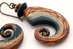 Laura Timmins, polymer clay.