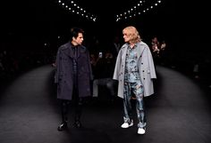Zoolander and Hansel at the Valentino Fall 2015 Show at Paris Fashion Week via Vogue #bluesteel #reallyreallyridiculouslygoodlooking