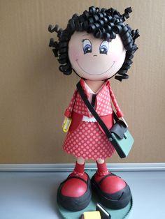 Fofuchas, la petite écolière : Chambre d'enfant, de bébé par creathoum