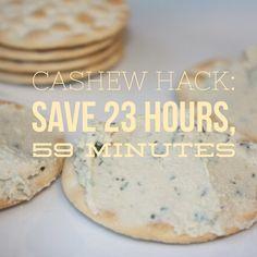 Cashew hack: grind i