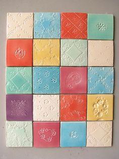 Décor céramique - Céramiques du Beaujolais, faïences et terre cuite - Fresque murale et azulejos