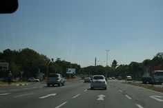 William Nicol 1: visual depiction of the journey to the end of the road. We can immediately multiple lanes, indicative of an immensely populated area.