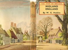Midland England by W G Hoskins - Batsford Books - cover by Brian Cook