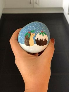 Do you need rock painting ideas for spreading rocks around your neighborhood or the Kindness Rocks Project? Painting Wood White, Pebble Painting, Tole Painting, Rock Painting Patterns, Rock Painting Ideas Easy, Painting For Kids, Rock Crafts, Fall Crafts, Christmas Rock