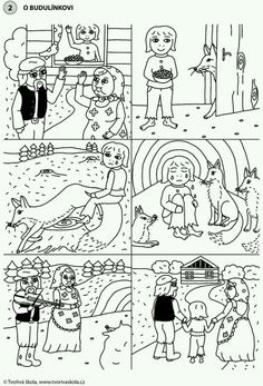 Sequencing Pictures, Story Sequencing, Croatian Language, Sequence Of Events, Tree Templates, Paper Birds, Spring Activities, Free Coloring Pages, Kids Education