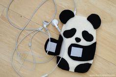 Incredibly Cute Panda iPhone and iPad Cases - My Modern Metropolis