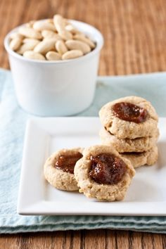 Almond Apricot Butter Cookies. want to make these for my Christmas cookie platters next year!