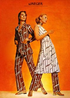 A Jaeger magazine advert from the 1970s Photo: The Advertising Archives