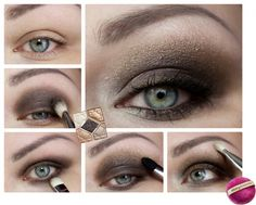 DIOR 'Night Golds' Smokey Eyes Graphic Tutorial  by magi-mania.de