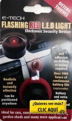 E-Tech LED rojo intermitente - Alarma ficticias... #alarma #coche