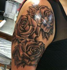 20 Mejores Imágenes De Tatuajes De Rosa En El Hombro En 2017