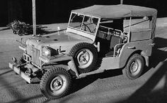This Toyota SUV was first introduced in Japan in 1951 as a military vehicle and was known as the Toyota BJ. It was first designed with off-roading Toyota Lc, Toyota Fj40, Toyota Cars, Toyota Supra, Toyota Dealers, Jeep Wrangler Rubicon, Jeep Renegade, Toyota Land Cruiser, Military Vehicles