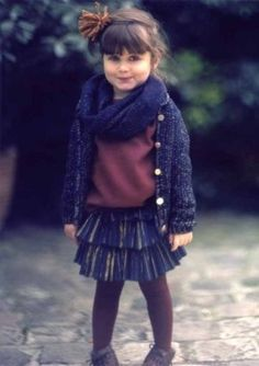 sweater, scarf, skirt, tights, fashion, girls fashion, kids fashion
