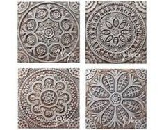 Decorative Outdoor Wall Tiles Simple Mandala Outdoor Wall Art Made From Ceramicgardengvega On Etsy 2018