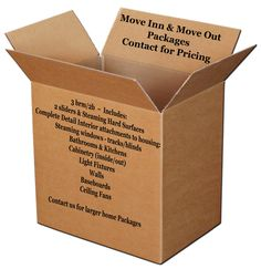 Move In & Move Out Packages