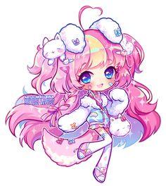 [+Video] Fairy Vial - Cappuccino by Hyanna-Natsu on DeviantArt Chibi Neko, Chibi Manga, Naruto Chibi, Chibi Kawaii, Manga Kawaii, Cute Anime Chibi, Kawaii Art, Kawaii Anime Girl, Cartoon Kunst