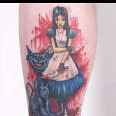 Really want a Alice in wonderland tattoo! Def different