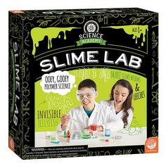 Science Academy Slime Lab by MindWare, Multicolor