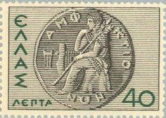 Sello: Coin of Amphiktyony (Grecia) (Greek History) Mi:GR 398,Yt:GR 425
